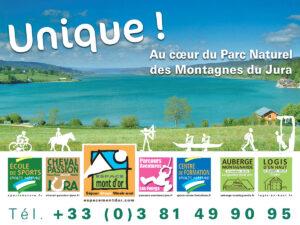 Unique - Affiche promotionnelle des structures d'Espace Mont D'Or
