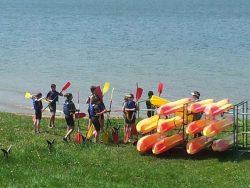 Base Nautique Le Vézenay | Séance de Canoë Kayak