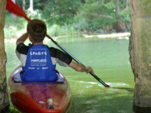 Canoë-Kayak en rivière