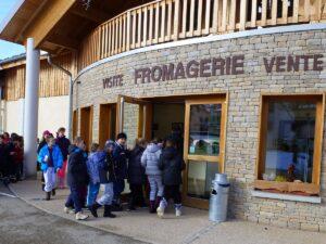 Visite de la Fromagerie de Métabief
